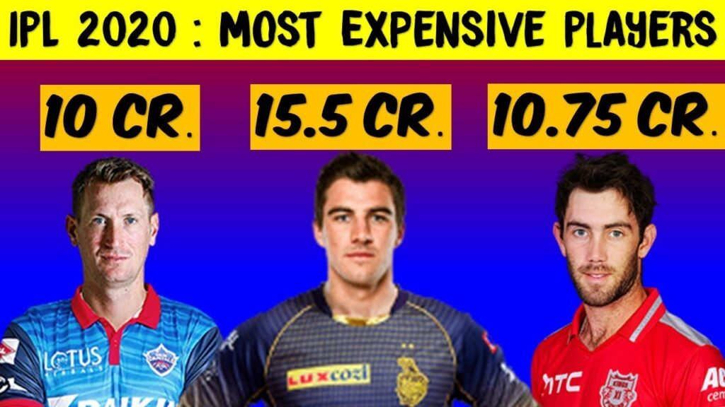 All you need to learn about IPL 2020! IPL 2020 is on the door and these players top the chart with there bid.