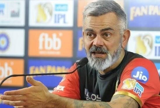 It's 2050 and 43rd addition of IPL but RCB's faith is prolonged as they are still hoping to Win a IPL title, Head Coach Virat kholi giving an interview