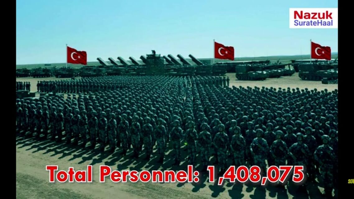 Turkey Military total personnel