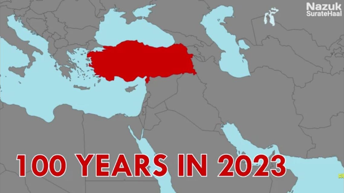 Turkey will be soon celebrating its 100 years in 2023