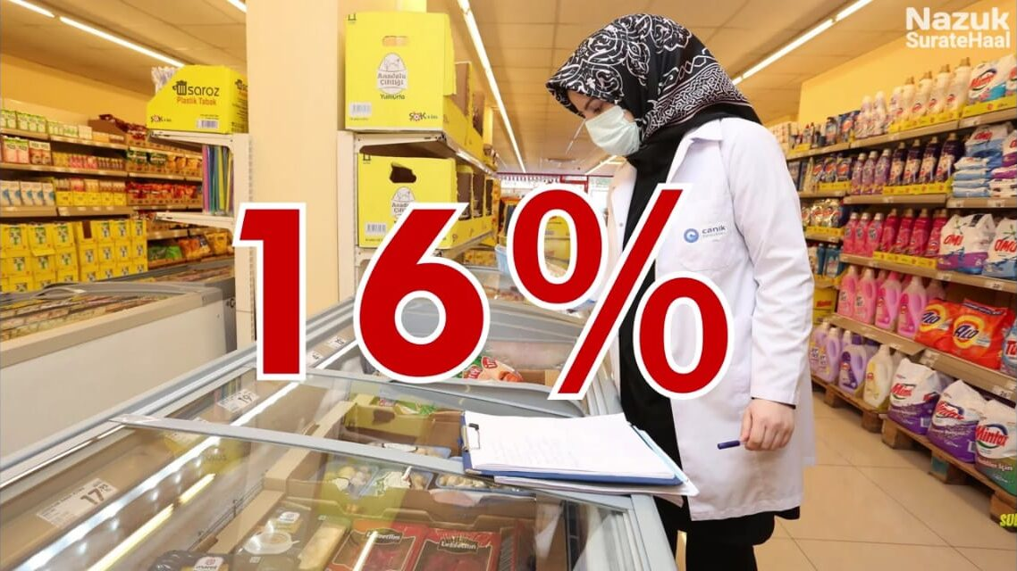 Turkey's price inflation surged to 16% in March 2021