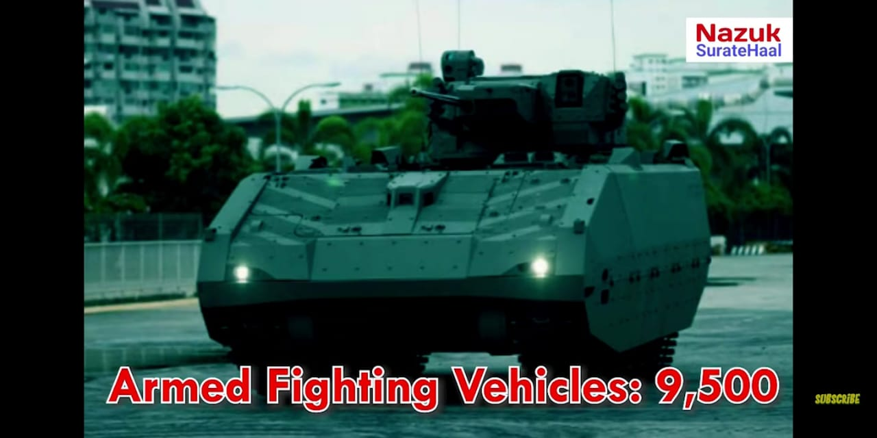 Turkey Military Armed Fighting vehicles