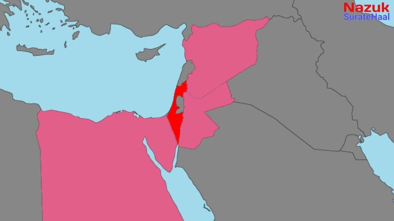 In the 1967 six days war, Israel defeated the armies of Egypt, Syria, and Jordon