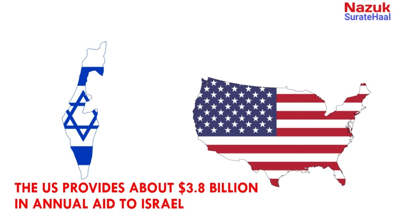Beyond arms sales, the US provides about $3.8 bn in annual aid to Israel.