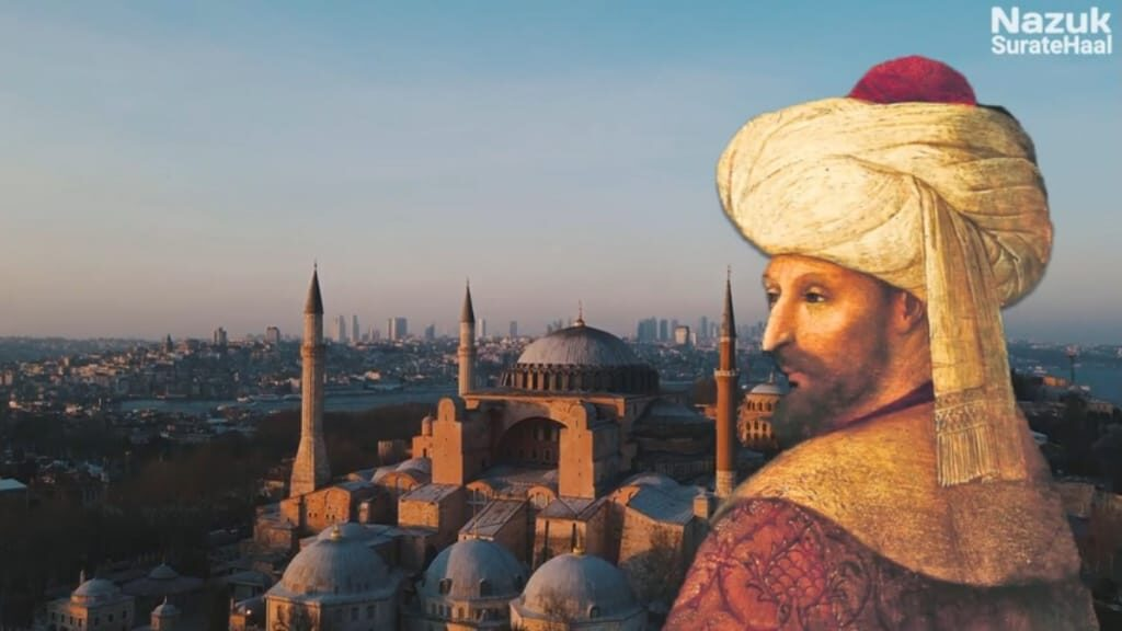 Sultan Mehmed conquered Istanbul (Constantinople) in 1451