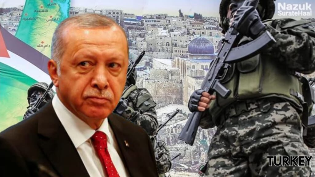 """Erdoğan described Hamas as """"resistance fighters who are struggling to defend their land"""""""