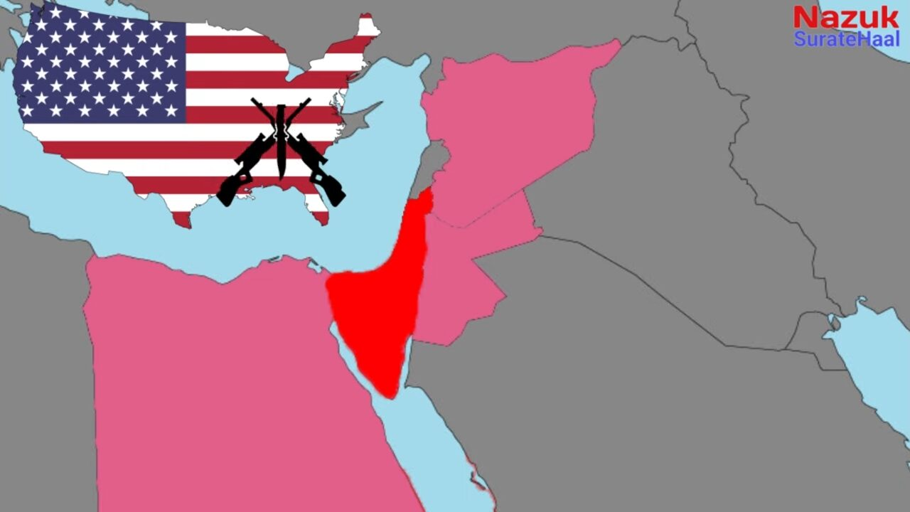 . The united states supported and provided military aid to Israel during 1967 war.
