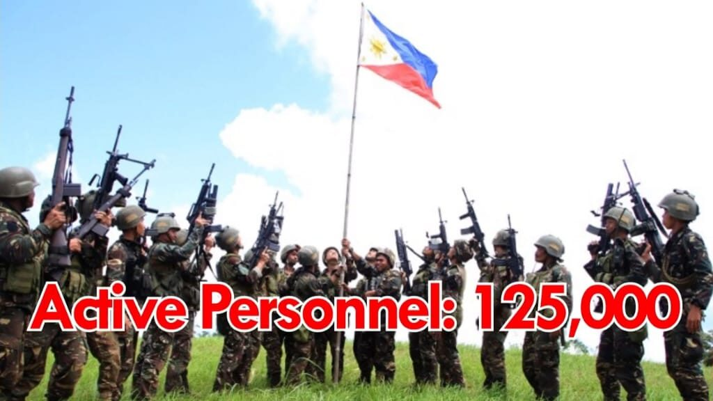Active personnel of Philippines