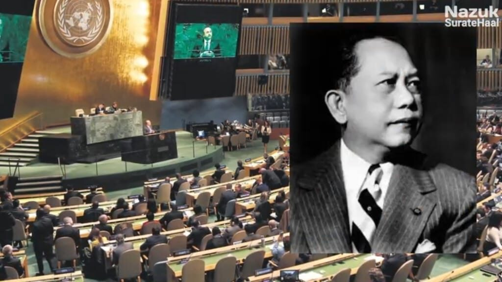Romulo a Filipino diplomat was former President of the United Nations General Assembly