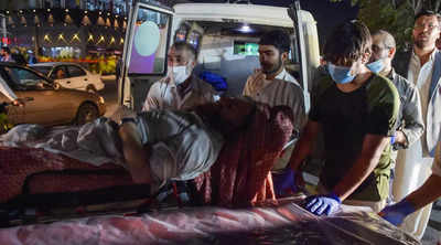 Kabul airport Suicide attack kills at least 13