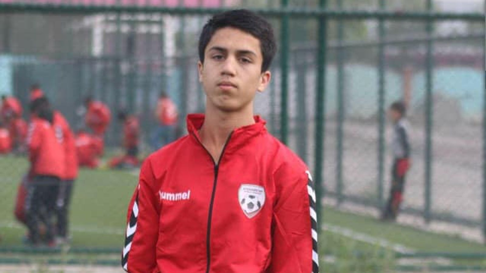 19-year-old footballer Zaki Anwari fell to death from a US plane