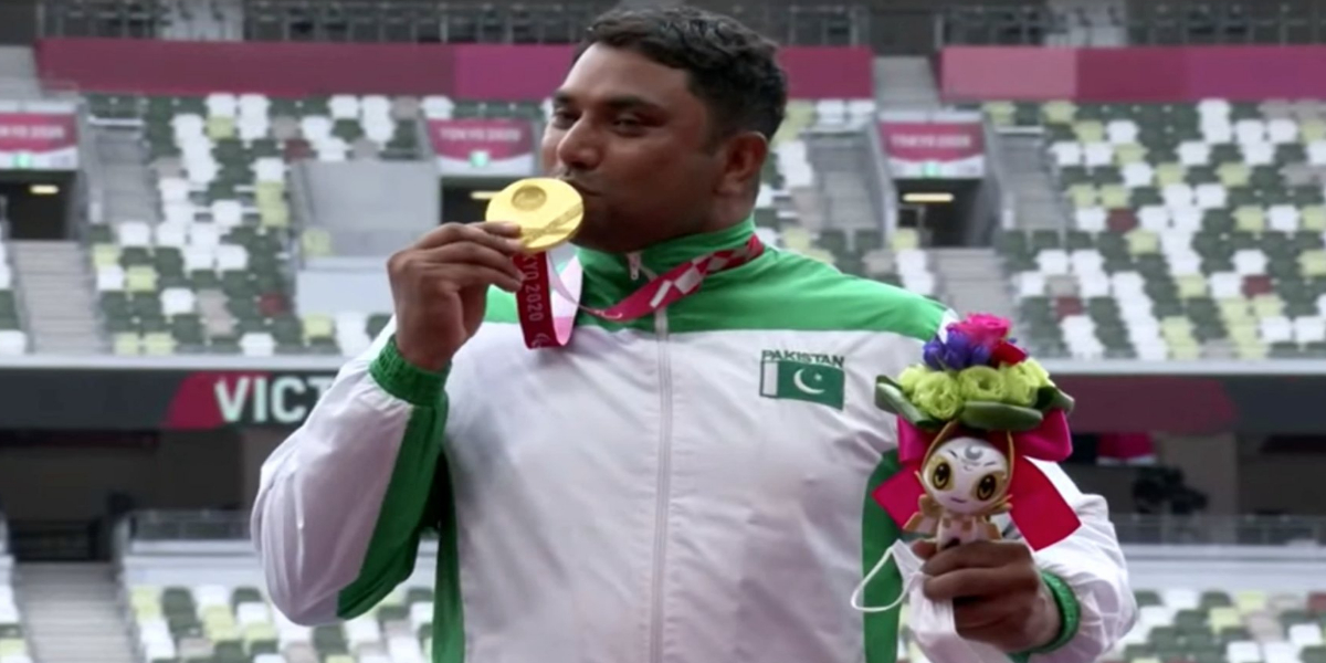 Haider Ali wins Pakistan's first-ever gold medal at Paralympics 2021