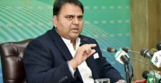 Minister of IT, Fawad Chaudhry questions Maryam's source of expensive clothes