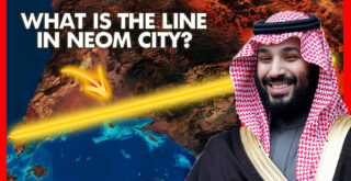 What is the line in neom city